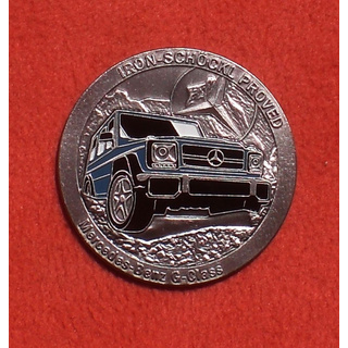 MERCEDES G GE GD PLAKETTE IRON - SCHÖCKL PROVED EMBLEM BADGE NEW NEU PUCH G63